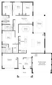 Open Floor Plans Homes Open Floor Plans For Homes With Modern One Striking Southwestern