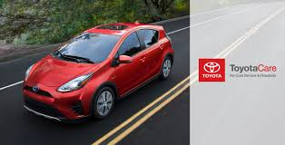 toyota home service 2018 toyota prius c features