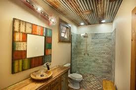 bathroom wood ceiling ideas small rustic bathroom maxwells tacoma