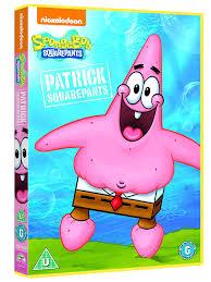 spongebob and friends patrick squarepants dvd amazon co uk