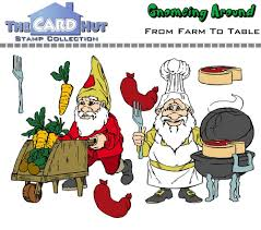 from farm to table the card hut clear sts gnomeing around from farm to table 7 99