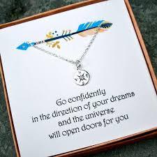 graduation jewelry gift graduation gifts for diamond compass