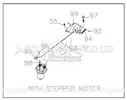 generac gn 220 parts diagram for stepper motor