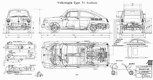 hippie volkswagen drawing 1962 vw type 31 fastback plans cars pinterest volkswagen