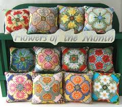 Flower Of The Month Flowers Of The Month Sheena Rogers Designs