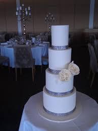square wedding cakes with bling wedding cake softly pink wedding