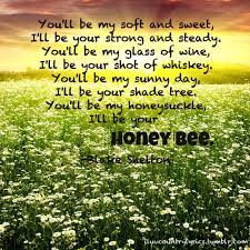 printable lyrics honey bee blake shelton 313 best bees quotes images on pinterest bees bees knees and honey