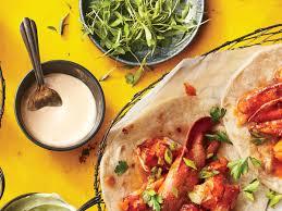 lobster roll recipe new england lobster roll tacos recipe myrecipes