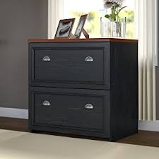 amazon com fairview lateral file cabinet in antique black