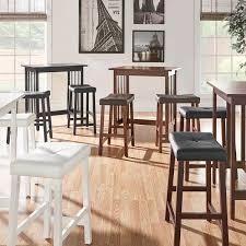 Kitchen Countertop Height Nova 3 Piece Kitchen Counter Height Dinette Set By Inspire Q