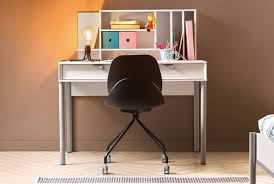 gautier bureau small grey desk desks meubles gautier