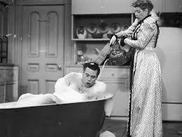 still of lucille ball and desi arnaz jr in i love lucy 1951