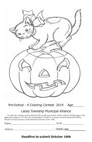 Halloween Color Printables Halloween Coloring Pages Contest Archives Gallery Coloring Page
