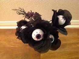 diy eyeball flowers 31 days of halloween youtube