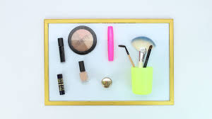 Manage Manage Your Makeup With A Magnetic Board