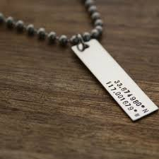 mens engraved necklaces best latitude and longitude necklace products on wanelo