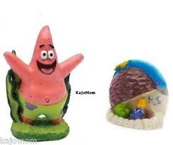 spongebob show aquarium decoration ornament s