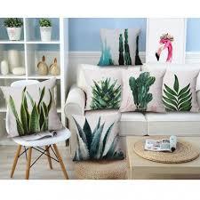 cactus home decor home decoration nordic style cushion cactus decor artificial green