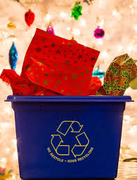 recyclable wrapping paper post christmas recycling reminders the belleville intelligencer
