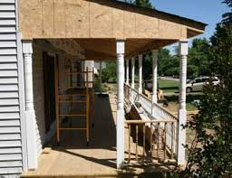 How To Build A Shed Roof House by Building A Porch Roof Porch Roof Framing