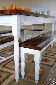 Husky Table Legs by Farmhouse Dining Table Being Genevieve