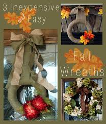 3 easy inexpensive fall wreaths you can make atta says