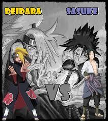 sasuke vs sasuke vs deidara by itachi1998 on deviantart