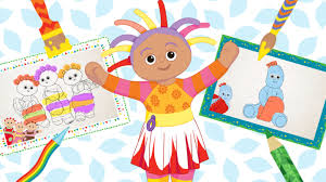 make and colour craft activities for kids cbeebies bbc