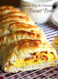 bacon egg and cheese biscuit braid recipe bacon egg bacon and egg