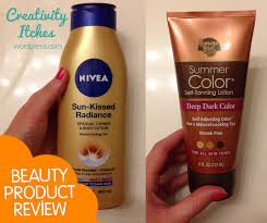 review sunless tanning lotions u0026 tips creativity itches