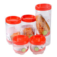 5pcs kitchen accessories container box kitchen rice storage