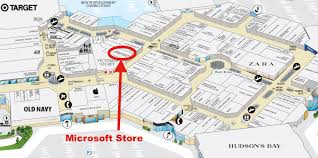 Centre Bell Floor Plan Canada U0027s 4th Microsoft Store Opens Saturday At Mississauga U0027s