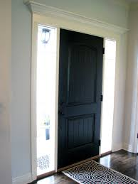 life love larson black interior front door