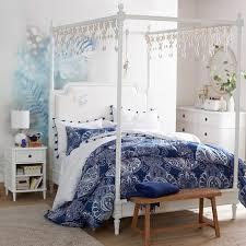 Canopy Bedding Colette Canopy Bed Set Pbteen