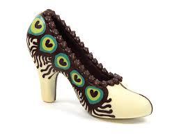 Peacock High Heels Chocolate High Heel Shoes Designer Animal Prints The Chocolate