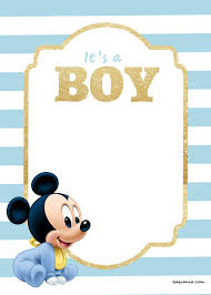 mickey mouse baby shower invitations il fullxfull 1031557454 j2o4 amazing baby mickeyr invitations