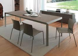 Glassmodernextendablediningtable  Modern Extendable Dining - Extendable kitchen tables