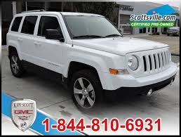 jeep patriot grey 2016 jeep patriot high altitude used for sale in leather nav