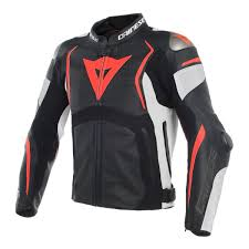 perforated leather motorcycle jacket dainese mugello black white fluo red perforated leather motorcycle