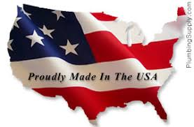 plumbing products proudly made in the usa