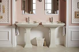 Powder Room Hand Towels Kohler K 10557 Cp Devonshire Towel Ring Polished Chrome