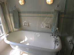 bathroom traditional white clawfoot tub in tiny bathroom design
