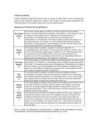 Rubric for the Grade    Writing Prompt Source recon