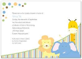 d lee design that sparkles jungle theme baby shower invitation