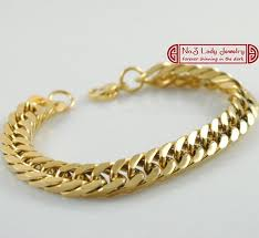 mens gold hand bracelet images 2018 18k gold plated stainless steel bracelets curb cuban chain jpg