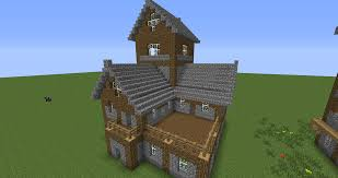 beautiful medieval house tutorial creative mode minecraft