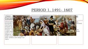american timeline 1491 present ppt