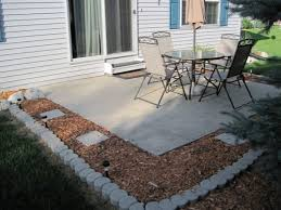 Concrete Patio With Pavers Choosing The Best Patio Flooring For Your Diy Backyard