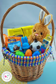 filled easter baskets boys 40 easter basket ideas and peeps giveaway crafty