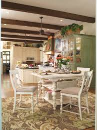 paula deen home kitchen gathering table set in linen by paula deen